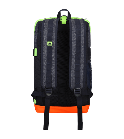 Mochila Hockey Adidas VS2 Back Pack Navy Orange Green BD0410 624972 SportZapatillas