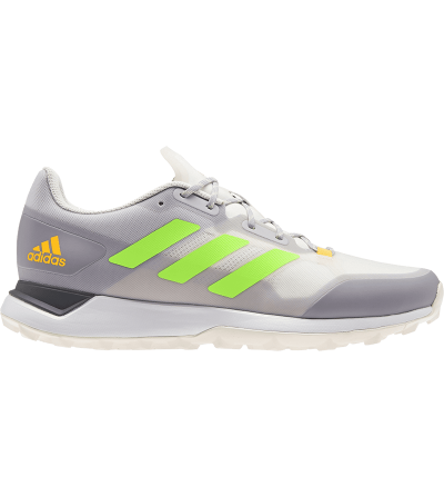 Zapatillas Hockey Adidas Zone Dox 2.0S White Grey Green FU8136 017430 SportZapatillas